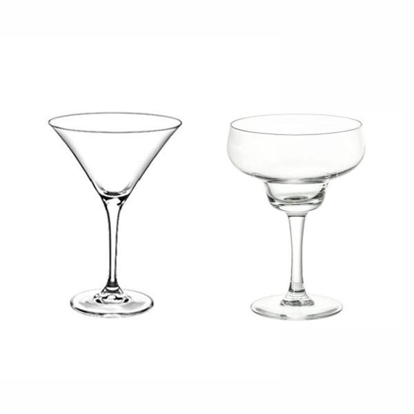 Cupe sticla martini