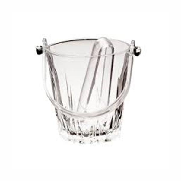 Ghetiera sticla prevazuta cu cleste pentru gheata