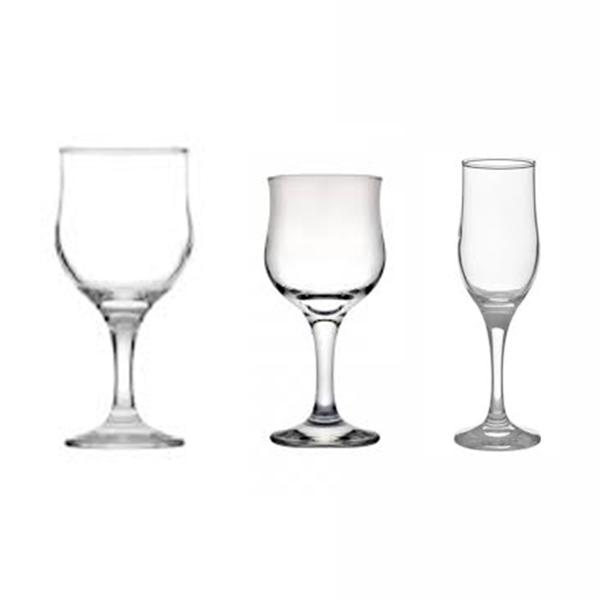 Pahar apa, vin, sampanie model Tulip